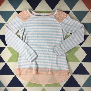 Maison Jules Striped Sweater